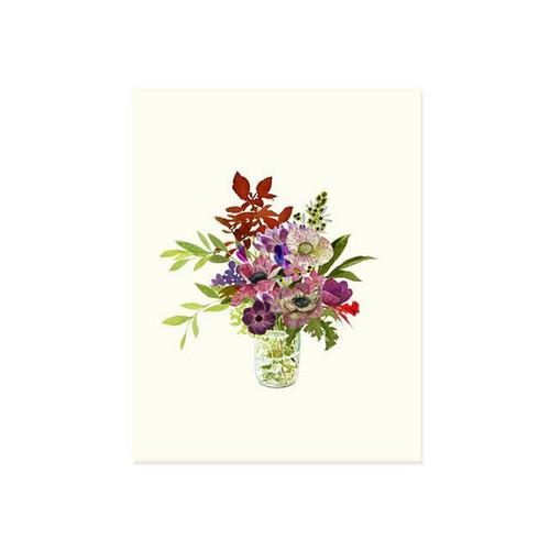 Farmer's Bouquet Greeting Card