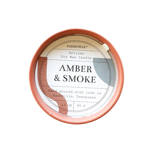 Paddywax Amber and Smoke Candle