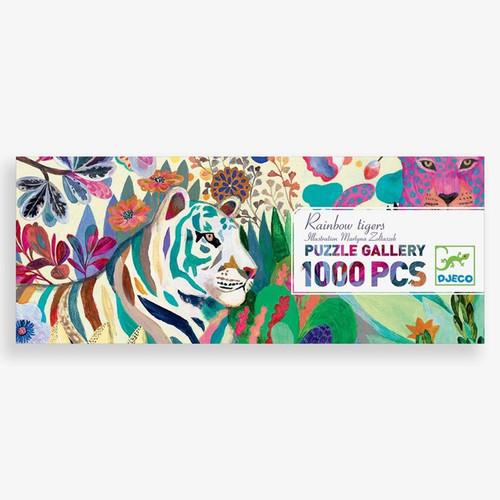 Rainbow Tigers Puzzle