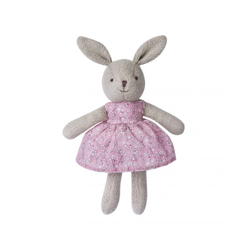Gray Little Plush Bunny