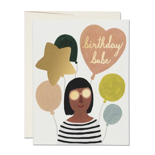 Birthday Babe Card