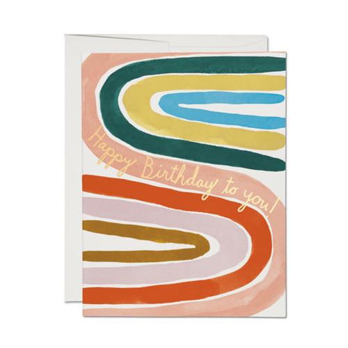 Perfect Rainbow Birthday Card