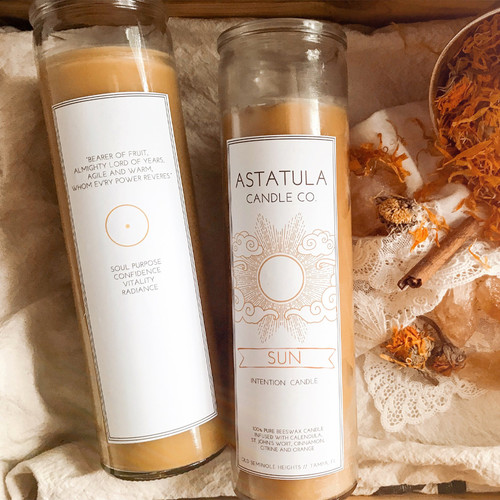 Astatula Sun Intention Candle