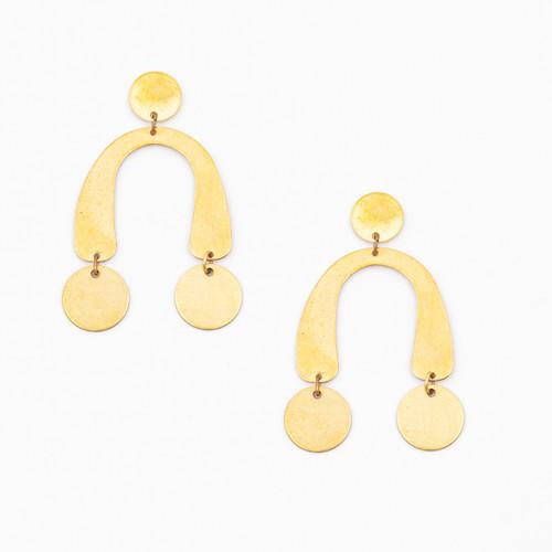 Arch & Dot Earring