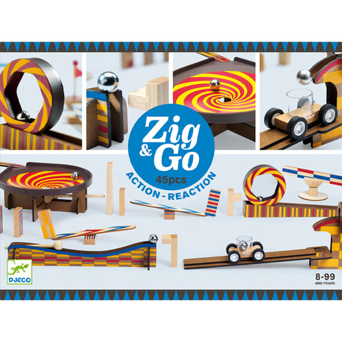 Djeco Zig & Go 45 piece set