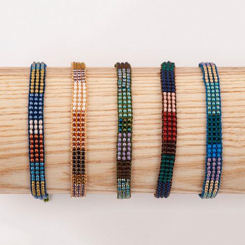Colorblock Slipknot Bracelet