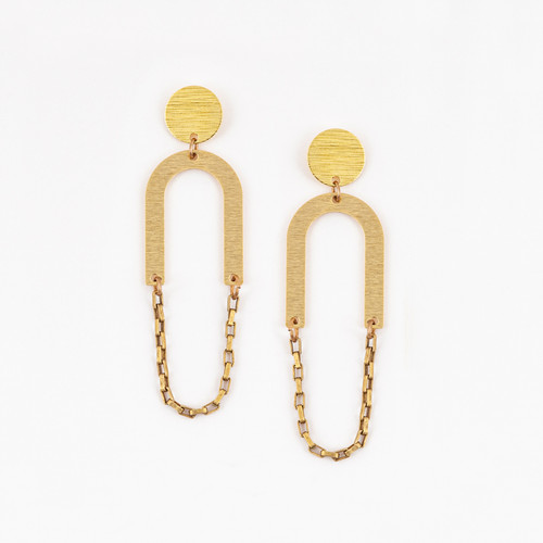 Swing Chain Earrings