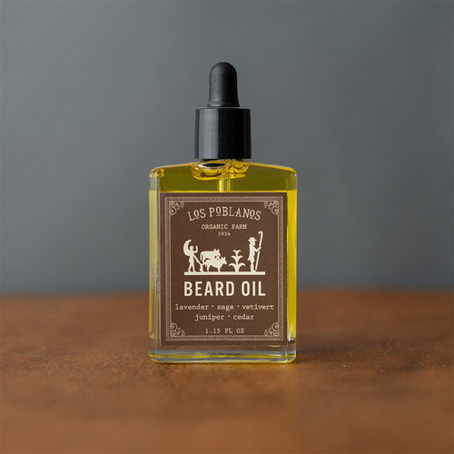 Beard Oil- Los Poblanos Farm