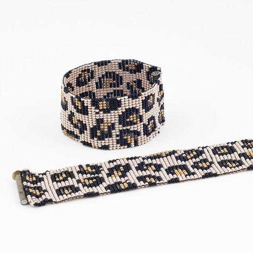 Beaded Jaguar Bracelet