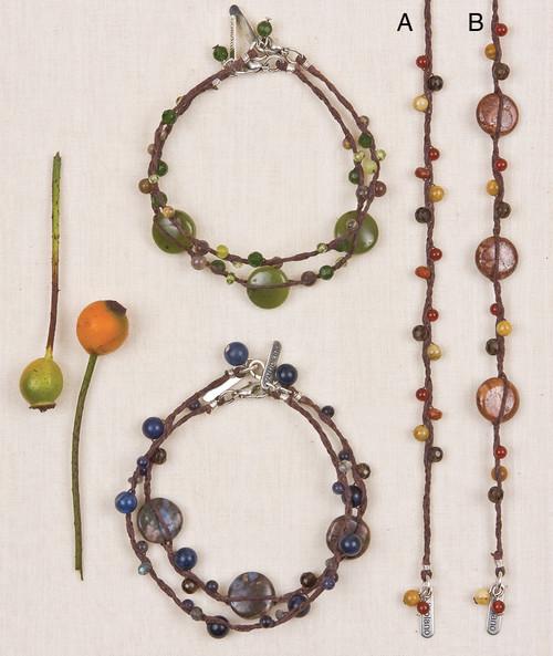 Linen & Stone Bracelets