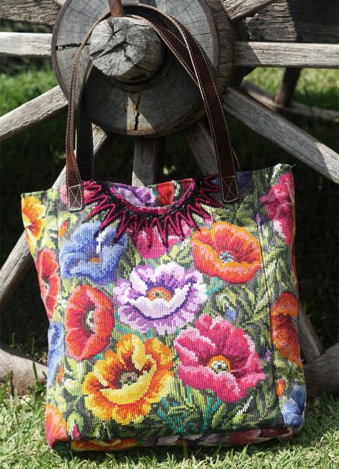 Floral Shopping Bag