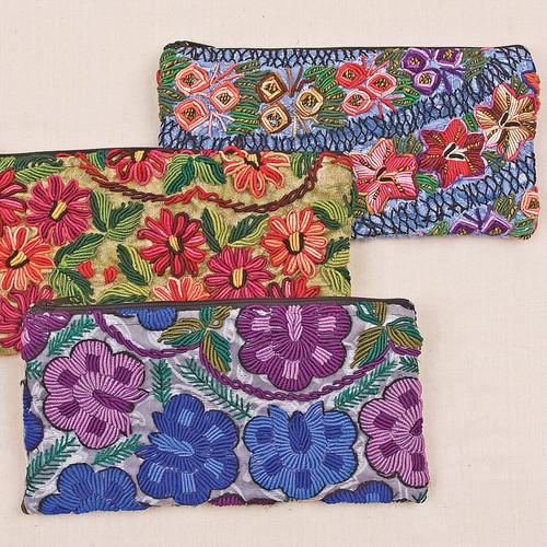 Recycled Fabric Handbags