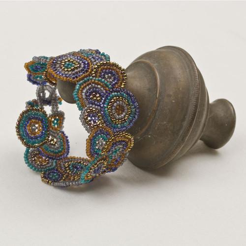 Beaded Circles Bracelet