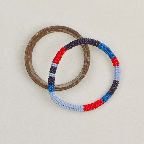 Colorblock Bangle Bracelet