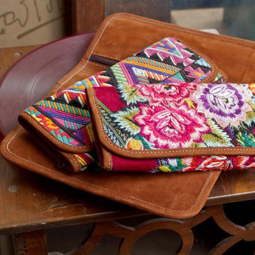 Nubuck & Huipile Wallet