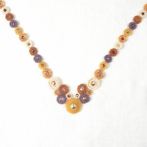 Deco Beaded Necklace