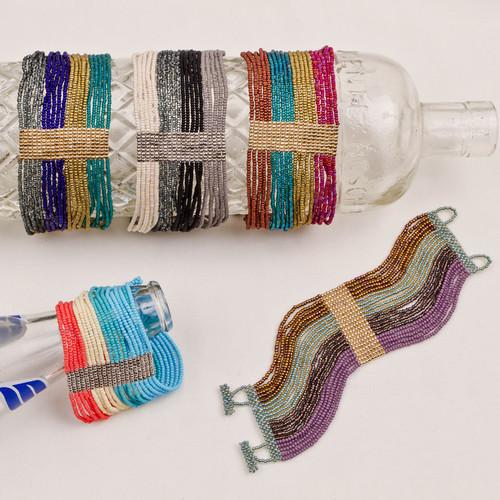 Gold & Silver Multi Strand Bracelet