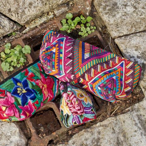 Small Huipile Cosmetic Bag