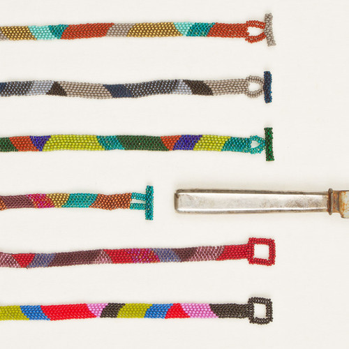 Graphic Bead Bracelet