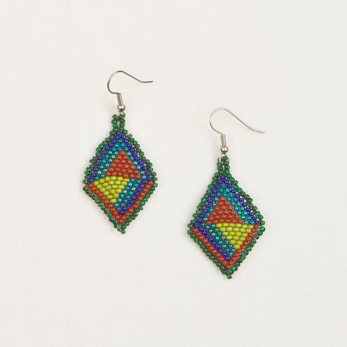 Graphic Diamond Earrings
