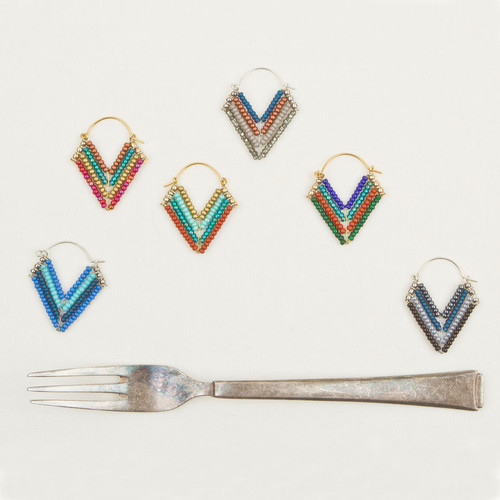 Small Wire V Hoops