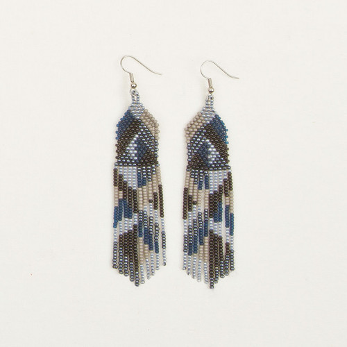 Graphic Fringe Earring