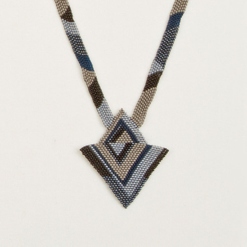 Graphic Triangle Necklace