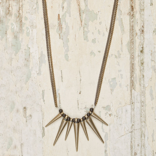Multi Spike Necklace*