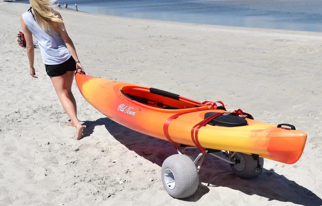Malone Clipper cart w beach wheels