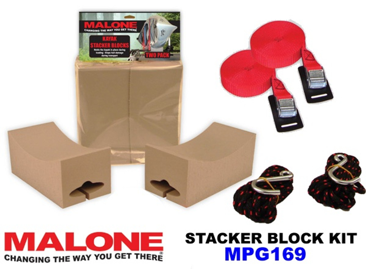 Malone Kayak Stacker Blocks