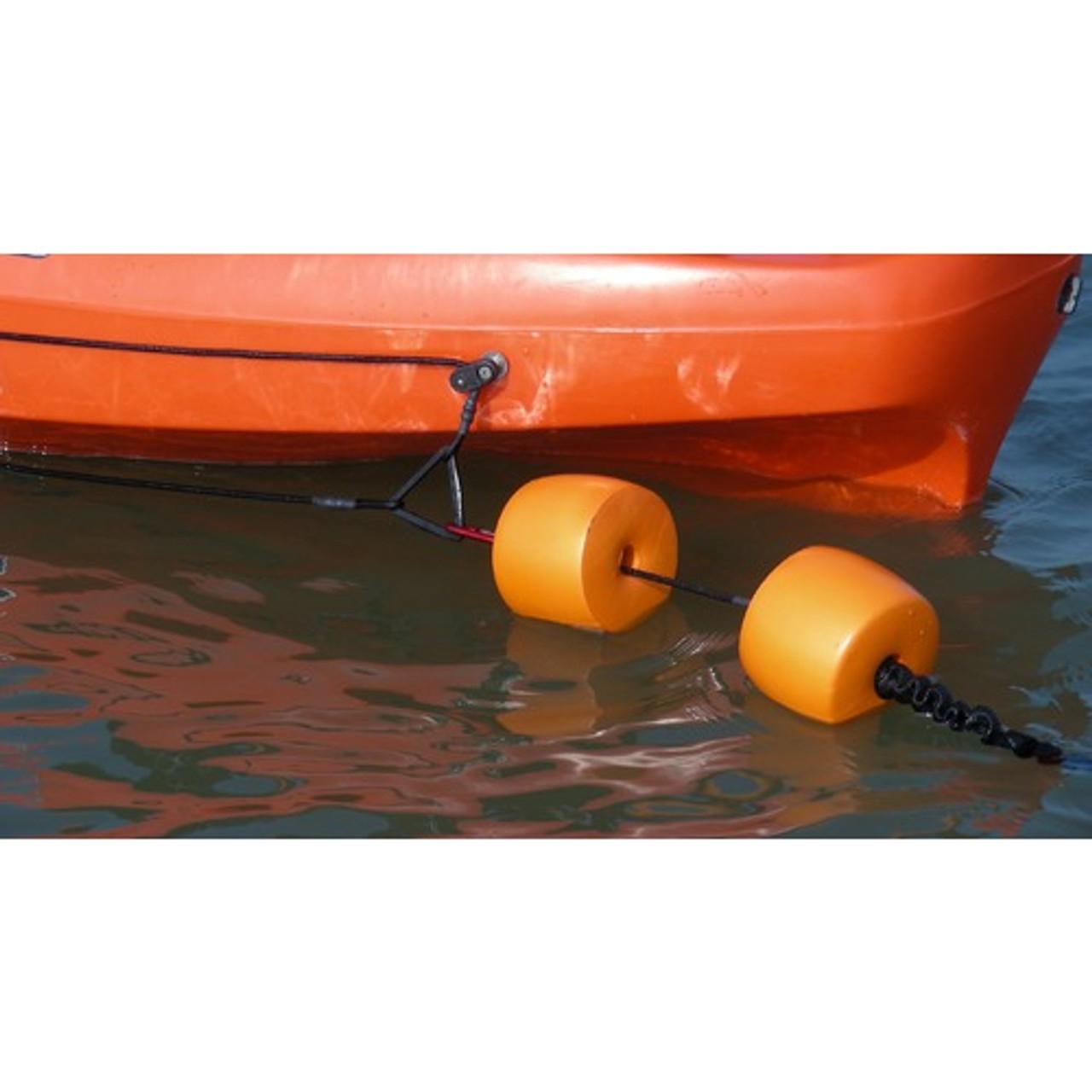 Kayak fishing anchor floats