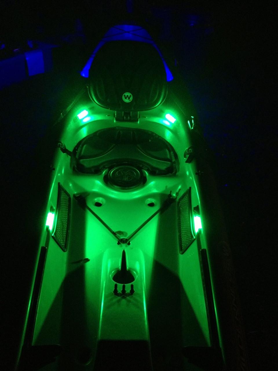 SuperNova Extreme Kayak Kit in use