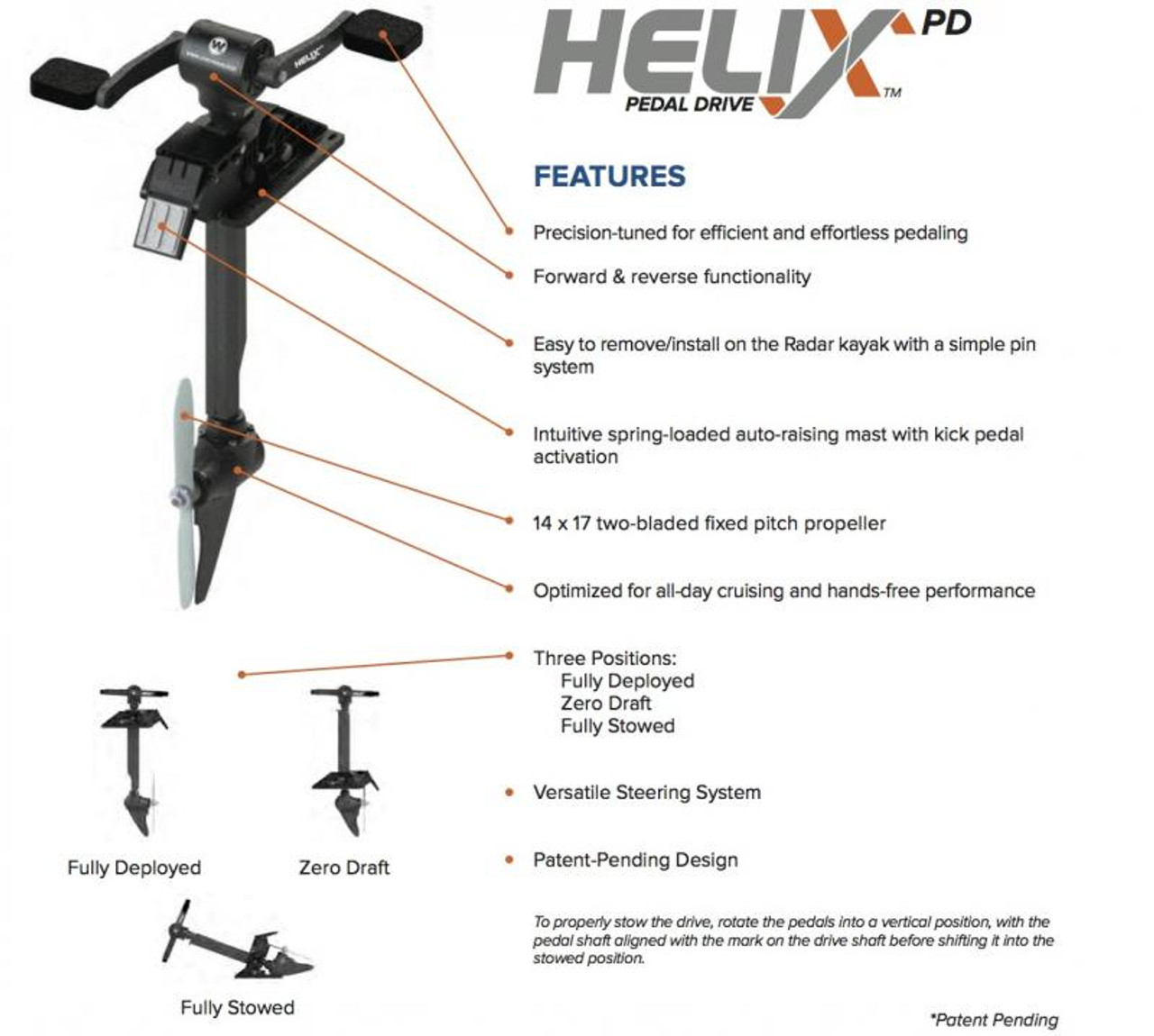 Helix Pedal Drive