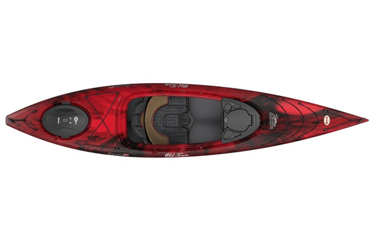 Old Town Kayaks Loon 126 Black Cherry