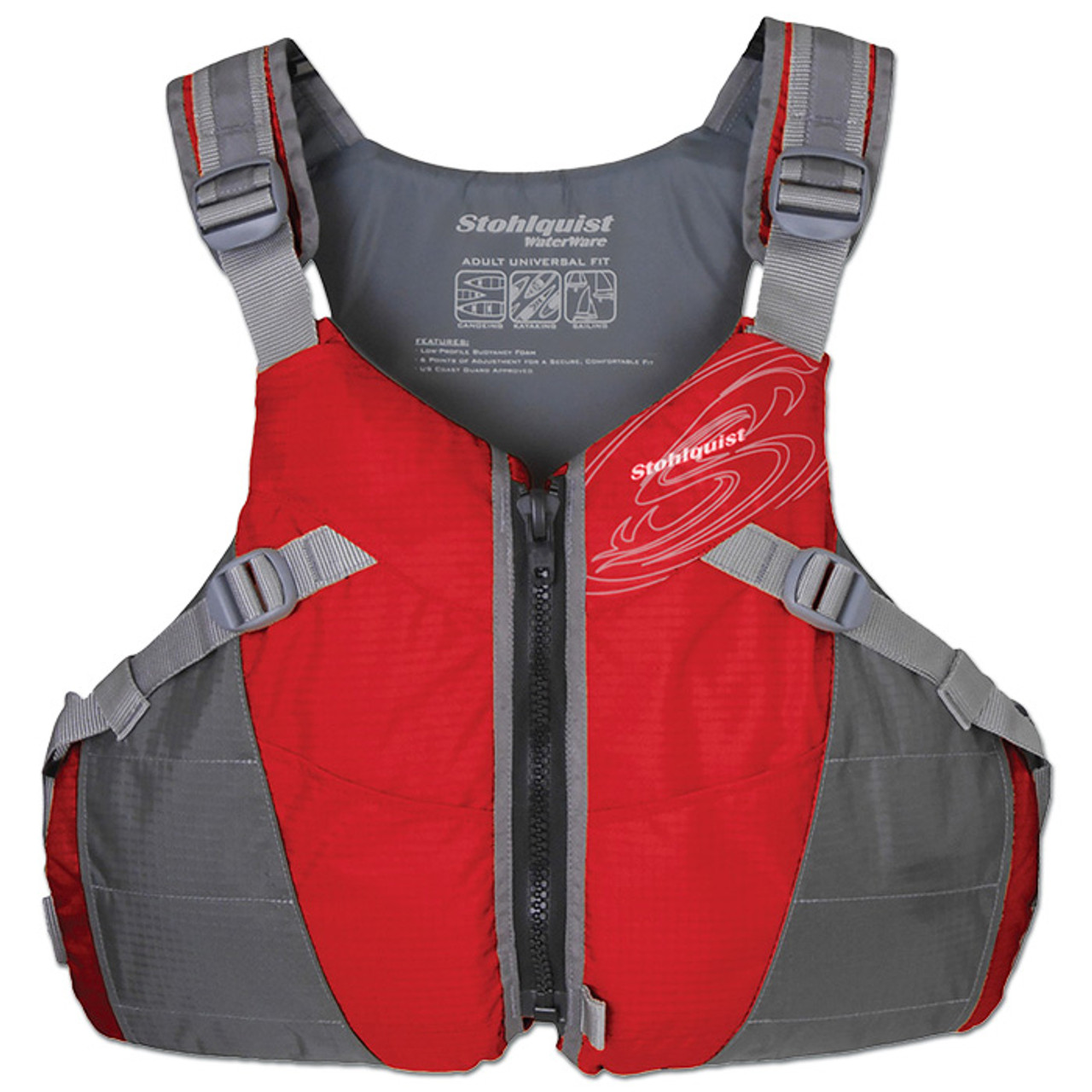 Stohlquist Spectrum Lifejacket (PFD) Red