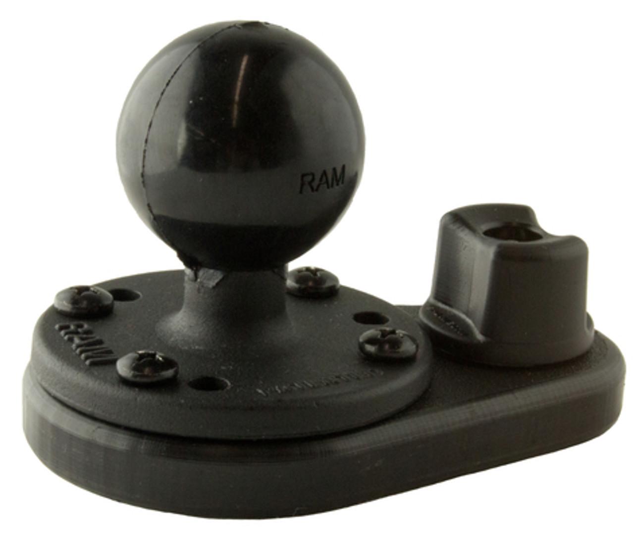 Yak Attack HD Track mount Alum Ball 1.5
