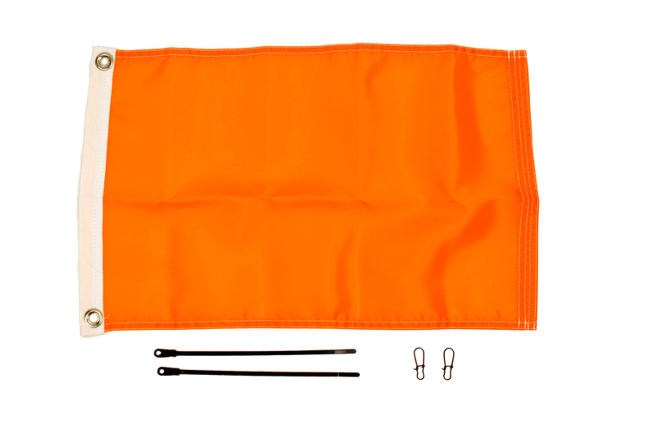12'' x 18'' Flag Kit, Orange