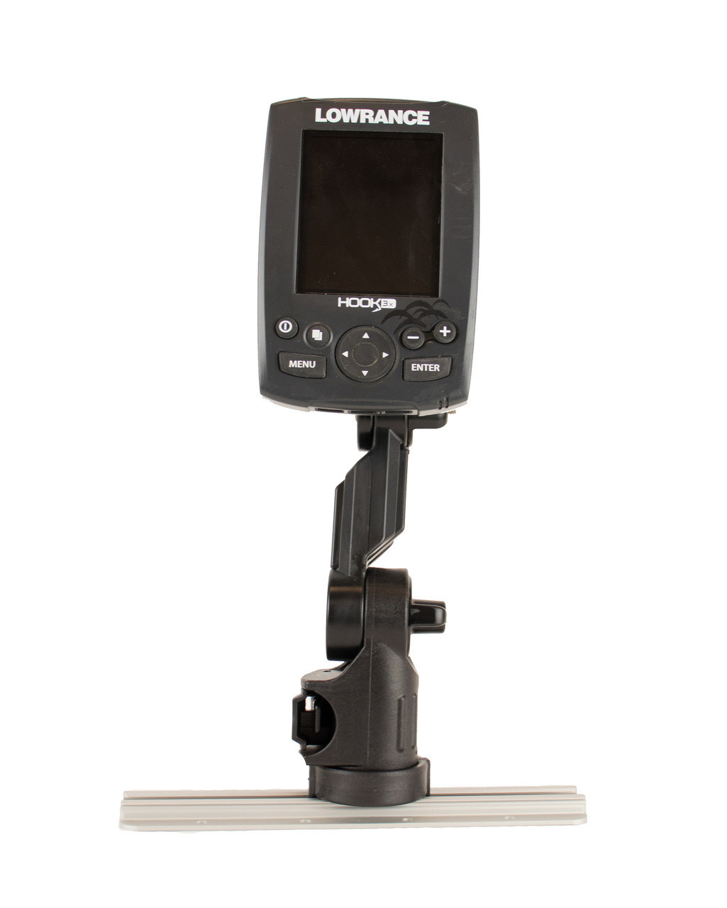 Lowrance® Fish Finder Mount with Track Mounted LockNLoad™ Mounting System