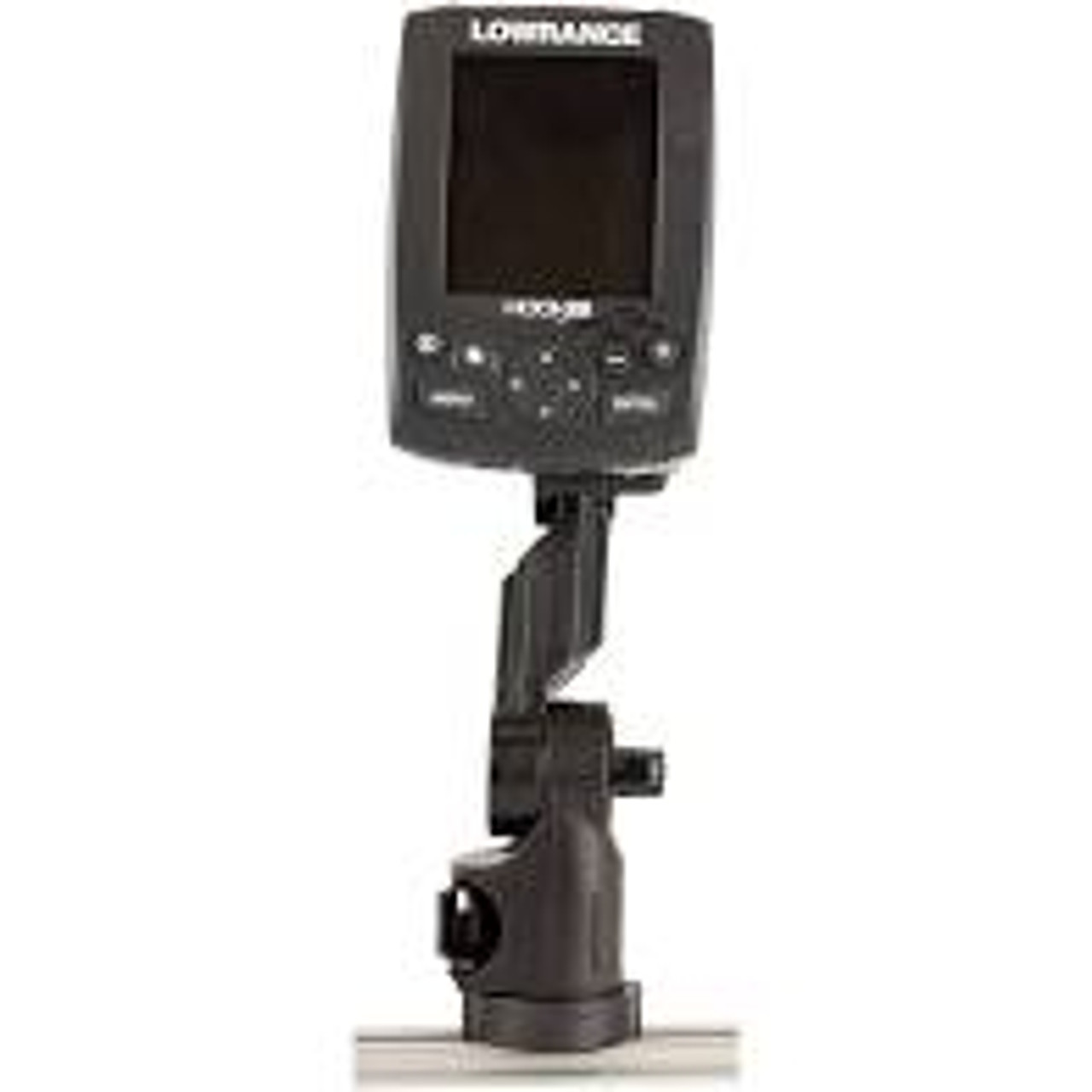 Lowrance® Hook2 Fish Finder Mount with Track Mounted LockNLoad™ Mounting System