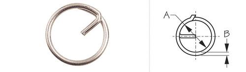 Split Ring 5/8ths