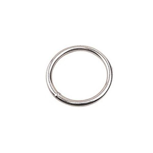 "2"" diameter stainless steel ring"