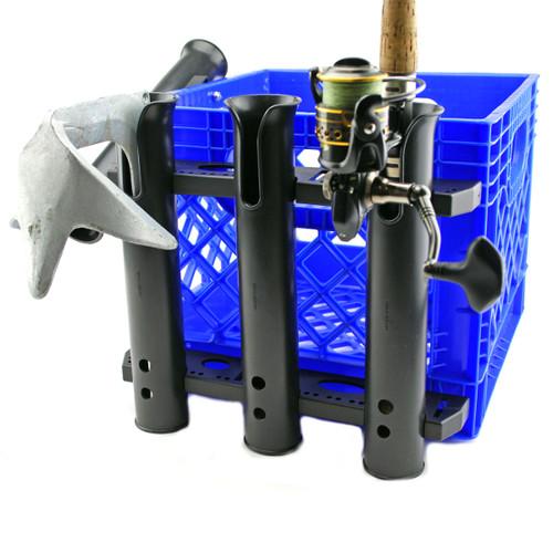 Yak-Gear Build A Crate Triple Rod Holder