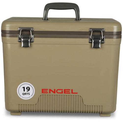 Engel 19 quart storage drybox, cooler and lunch box