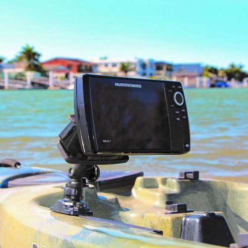 RAILBLAZA Fish Finder Mount R-Lock R action shot