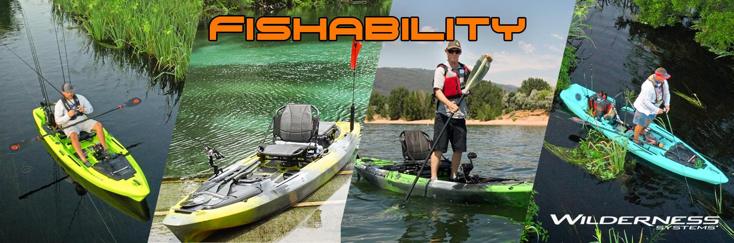 Wilderness System Fishing kayaks