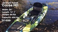 Here's Why the Brand New Jackson Coosa HD Kayak is the Best River Fishing Kayak Around!
