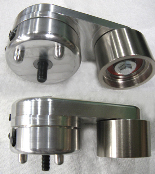 Thump Racing 2007-2014 GT500 Billet Aluminum Belt Tensioner with 63mm Pulley
