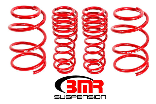"""2005 - 2014 Mustang DRAG RACE 1.5"""" Drop Springs Front and Rear"""