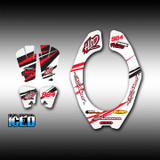Neckbrace Decals - Iced