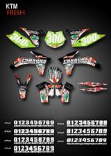 Fresh Full-Kit KTM